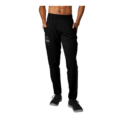UNDER ARMOUR - SUMMER WOVEN - Jogging Homme black/pitch gray/pitch gray