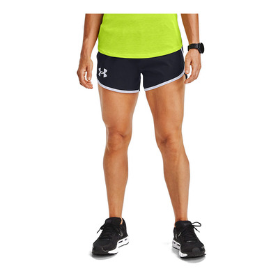 UNDER ARMOUR - FLY BY 2.0 STUNNER - Short Femme black/black/reflective