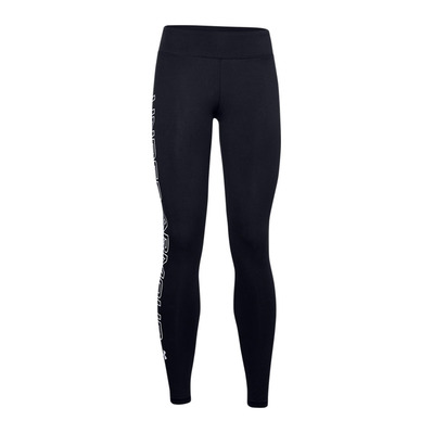 UNDER ARMOUR - UA Favorite WM Leggings-BLK Femme Black/White/White