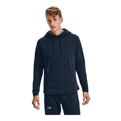 UNDER ARMOUR - UA Charged Cotton Fleece HD-NVY Homme Academy/Black