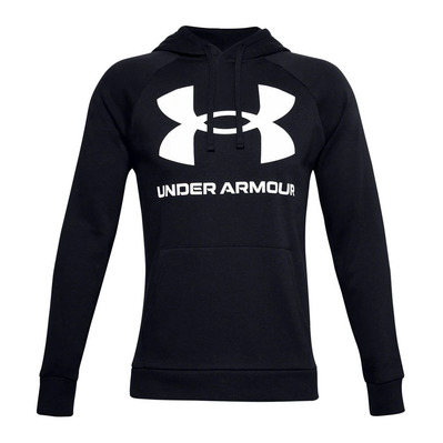 UNDER ARMOUR - RIVAL FLEECE BIG LOGO - Sweat Homme black