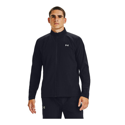 UNDER ARMOUR - M UA Launch 3.0 STORM Jacket-BLK Homme Black/Black/Reflective