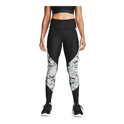 UNDER ARMOUR - UA HG Armour Alkali Legging-BLK Femme Black/Metallic Silver