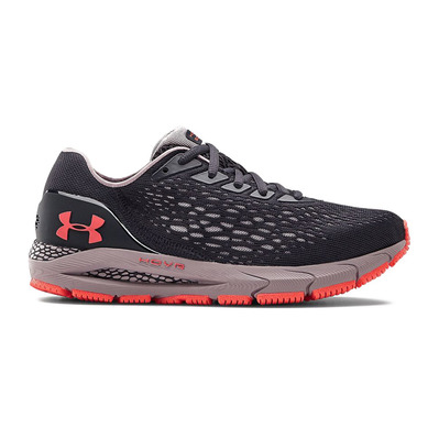 UNDER ARMOUR - HOVR SONIC 3 - Chaussures running Femme blackout purple/slate purple/beta