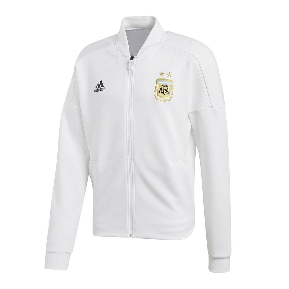 adidas Argentinien Z.N.E. Herren Strickjacke Fußball Weiß