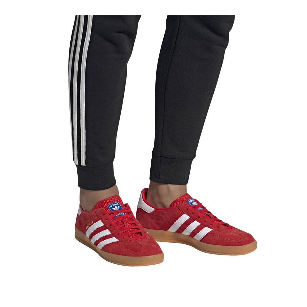 SPORTS FASHION Adidas GAZELLE INDOOR - Trainers - Men's - actred ...