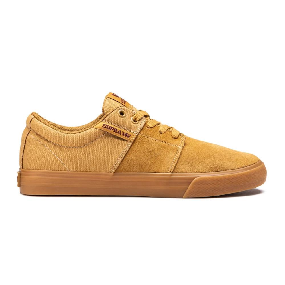 Brown Tan Supra Stacks Vulc II Shoes Lt Gum
