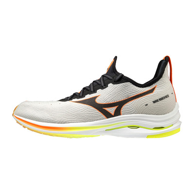 MIZUNO - WAVE RIDER NEO - Chaussures running Homme lunar rock/black/orange