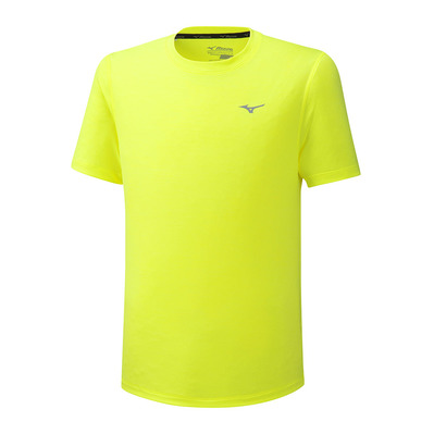 MIZUNO - Impulse Core Tee Homme Safety Yellow