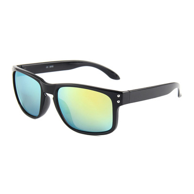 FLUOR - ORIGINAL SURFER - Gafas de sol black/gold mirror