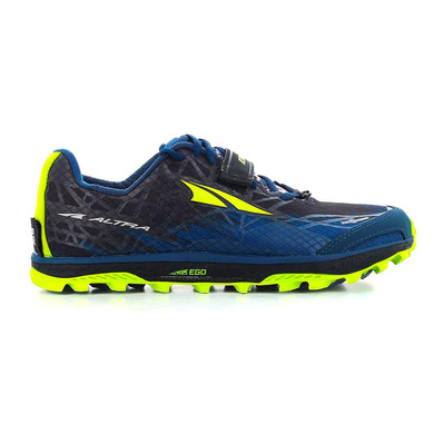 ALTRA - KING MT 1.5 - Trail Shoes - Men's - blue/lime