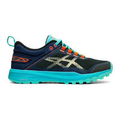 ASICS - FUJILYTE XT - Trail Shoes - Women's - aquarium/black