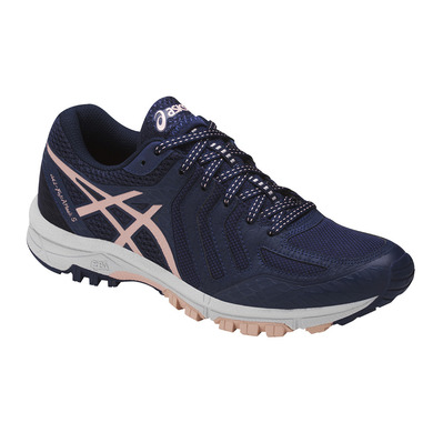 ASICS - GEL-FUJIATTACK 5 - Trail Shoes - Women's - indigo blue/evening sand/glacier grey
