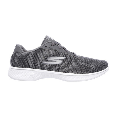SKECHERS - GO WALK 4 GLORIFY - Shoes - Women's - grey textile/trim