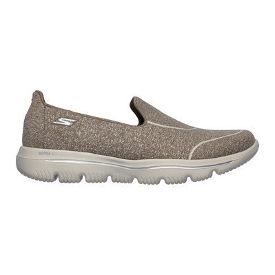 SKECHERS - GO WALK EVOLUTION ULTRA-DEDIC - Shoes - Women's - taupe textile/trim