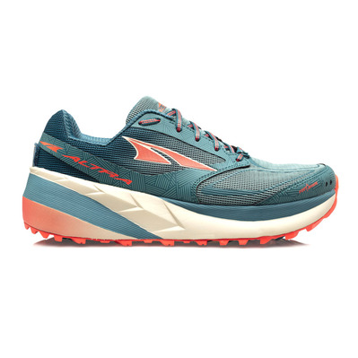 ALTRA - OLYMPUS 3.5 - Trail Shoes - Women's - blue / beige