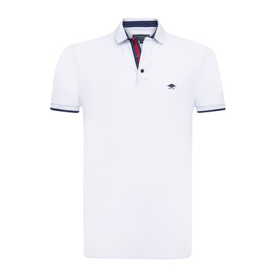 SIR RAYMOND TAILOR - GRANDO - Polo Homme white