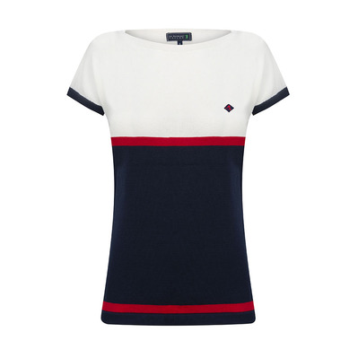 SIR RAYMOND TAILOR - GREAT - Tee-shirt Femme navy/white