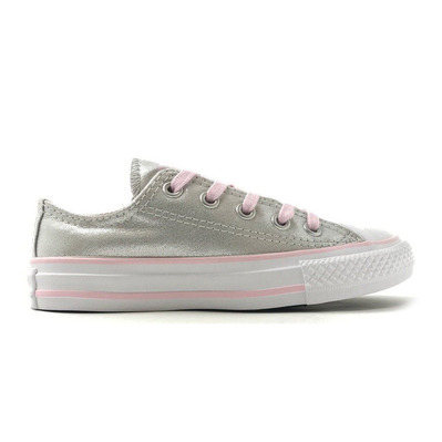 CONVERSE - CHUCK TAYLOR ALL STAR - Chaussures Junior mouse/pink foam/white grade B