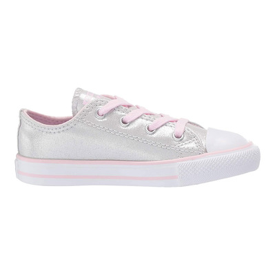 CONVERSE - CHUCK TAYLOR ALL STAR OX - Chaussures Enfant mouse/pink foam/white grade B