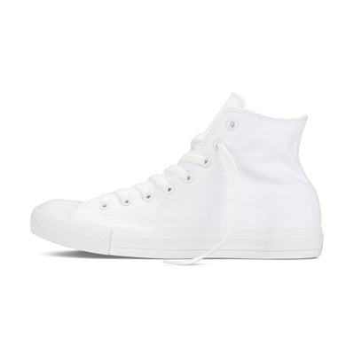 CONVERSE - CHUCK TAYLOR ALL STAR CANVAS HIGH - Chaussures Homme white monochrome