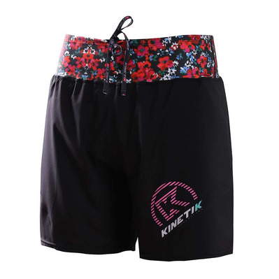 KINETIK - TRAIL - Shorts - Women's - flower