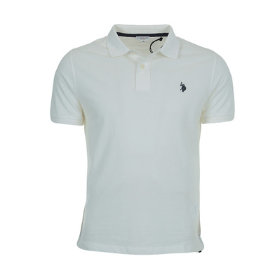 US POLO ASSN - US Polo INSTITUTIONAL - Polo - Men's - white