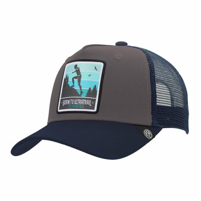 THE INDIAN FACE - BORN TO ULTRATRAIL - Cap - grey/blue