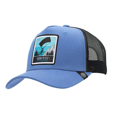 THE INDIAN FACE - BORN TO FLY - Gorra blue/black