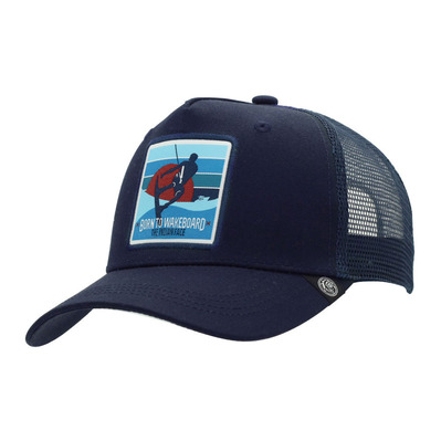 THE INDIAN FACE - BORN TO WAKEBOARD - Cap - blue
