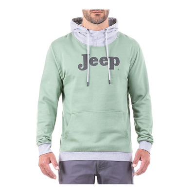 JEEP - Outfiter JEEP VINTAGE - Sweat Homme greyish green/light grey melange