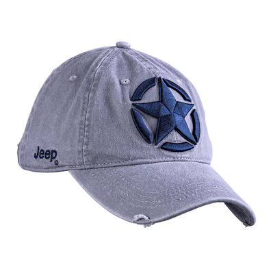 JEEP - STAR EMBROIDERY - Casquette Homme medium grey/dark blue