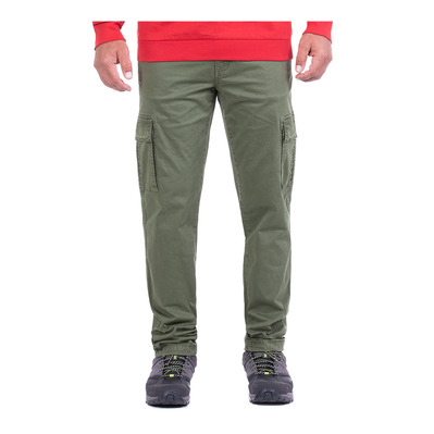 JEEP - LABEL CARGO - Pantalon Homme military