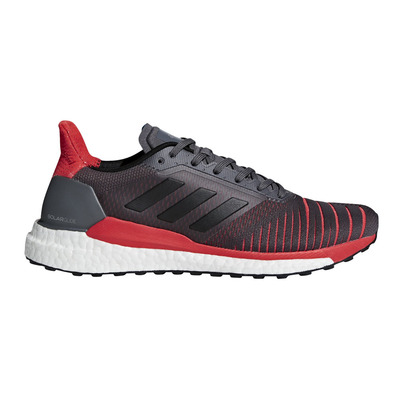 ADIDAS - SOLAR GLIDE M - Running Shoes - Men's - grefiv/cblack/hirere