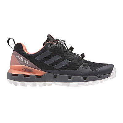 ADIDAS - TERREX FAST GTX-SURROUND W - Hiking Shoes - Women's - cblack/grefiv/chacor