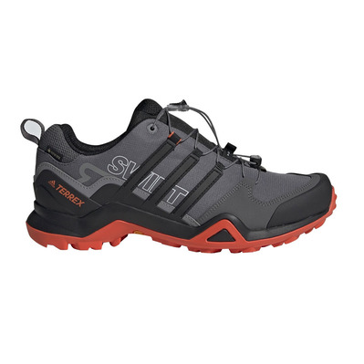 ADIDAS - TERREX SWIFT R2 GTX - Hiking Shoes - Men's - grefiv/cblack/actora