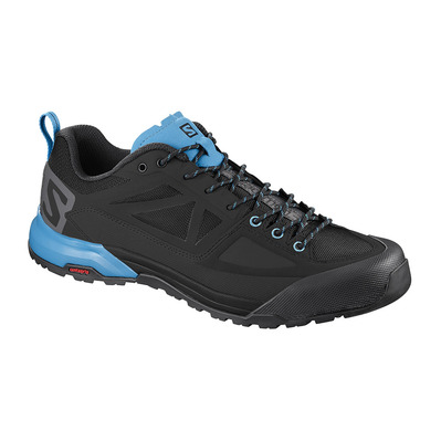 SALOMON - X ALP SPRY - Approach Shoes - Men's - black/magnet/hawaiian