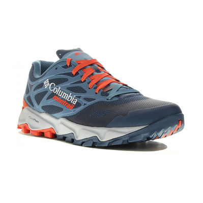 COLUMBIA - TRANS ALPS™ F.K.T™ II - Trail Shoes - Men's - zinc/red quartz