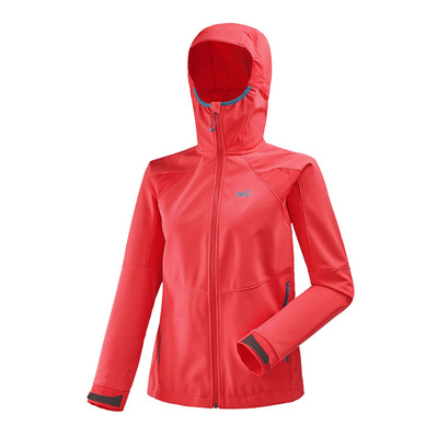 MILLET - TOURING SHIELD - Ski Jacket - Women's - poppy red