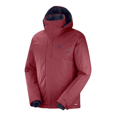 SALOMON - STORMPUNCH - Ski Jacket - Men's - biking red