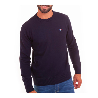 CAMBERABERO - 43207 - Jumper - Men's - navy blue