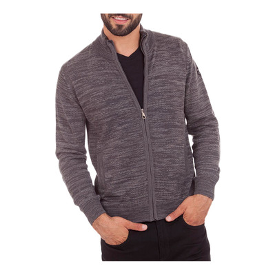 CAMBERABERO - 41209 - Cardigan - Men's - anthracite grey