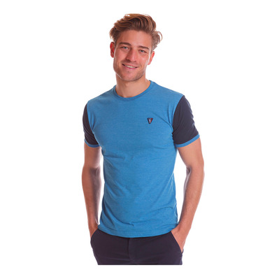 CAMBERABERO - 44007 - T-Shirt - france heather blue