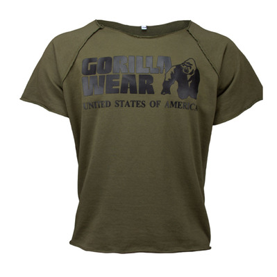 GORILLA WEAR - CLASSIC WORK OUT - Camiseta hombre army green
