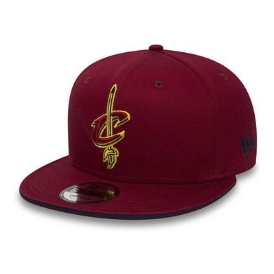 NEW ERA - 9FIFTY NBA CLEVELAND CAVALIERS - Casquettes burgundy