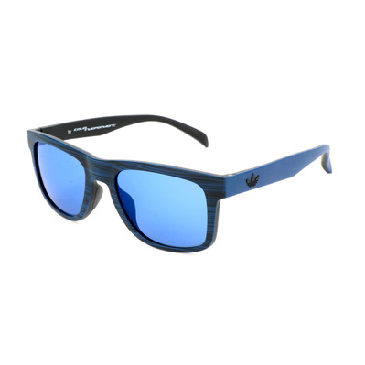 ADIDAS - AOR000 - Sunglasses - blue brush effect/blue mirror