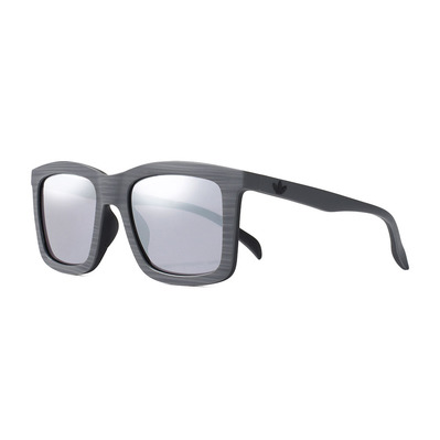 ADIDAS - AOR015 BI4771 - Sunglasses - Men's - grey brush effect/silver mirror