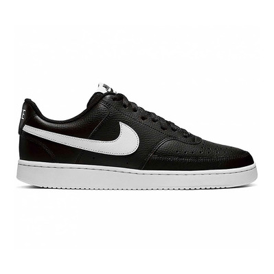 NIKE - COURT VISION LOW - Trainers - Men's - black/white
