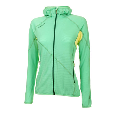 R'ADYS - R7 LIGHT STRETCHFLEECE - Chaqueta mujer jade cream