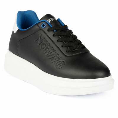 GEOGRAPHICAL NORWAY - GNM19001-01 - Sneakers homme black